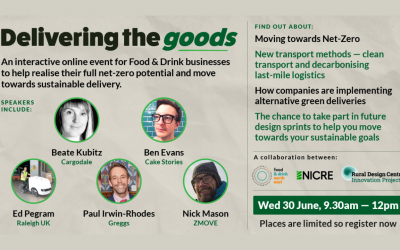 Event to help food and drink businesses move towards sustainable delivery