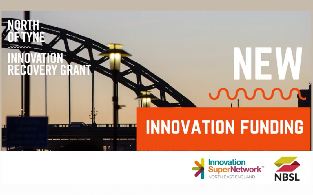 North of Tyne Combined Authority Innovation Recovery Grant